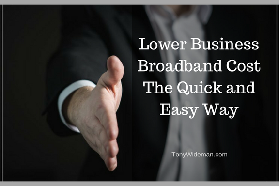 Lower Business Broadband Cost